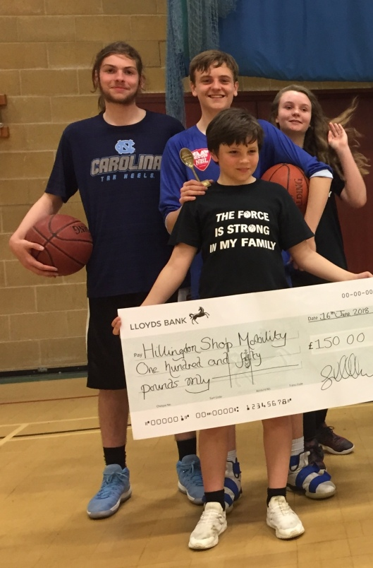 Aarons kids fundraising